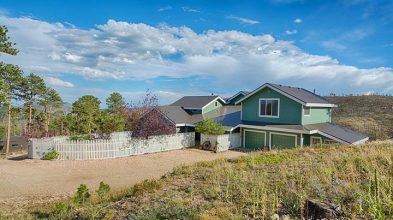Mountain Home on 32-acres For Sale near Ft Collins